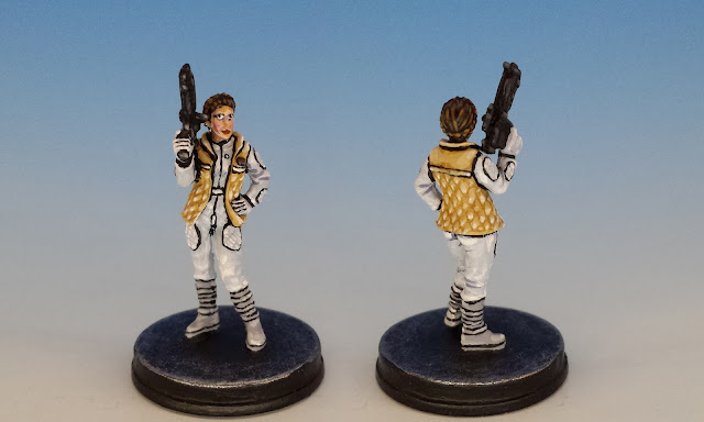 Leia Organa, Imperial Assault (2015, sculpted by B. Maillet)