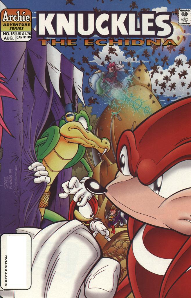 Knuckles The Echidna Issue 15 Viewcomic Reading Comics Online For Free 2019