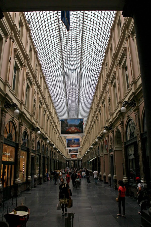 galerias-saint-hubert, bruselas