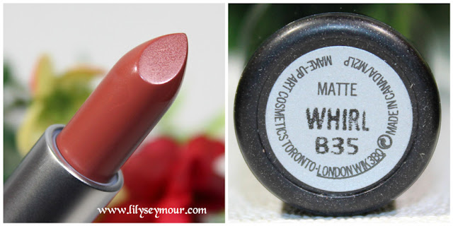 Whirl Lipstick by Mac Cosmetics
