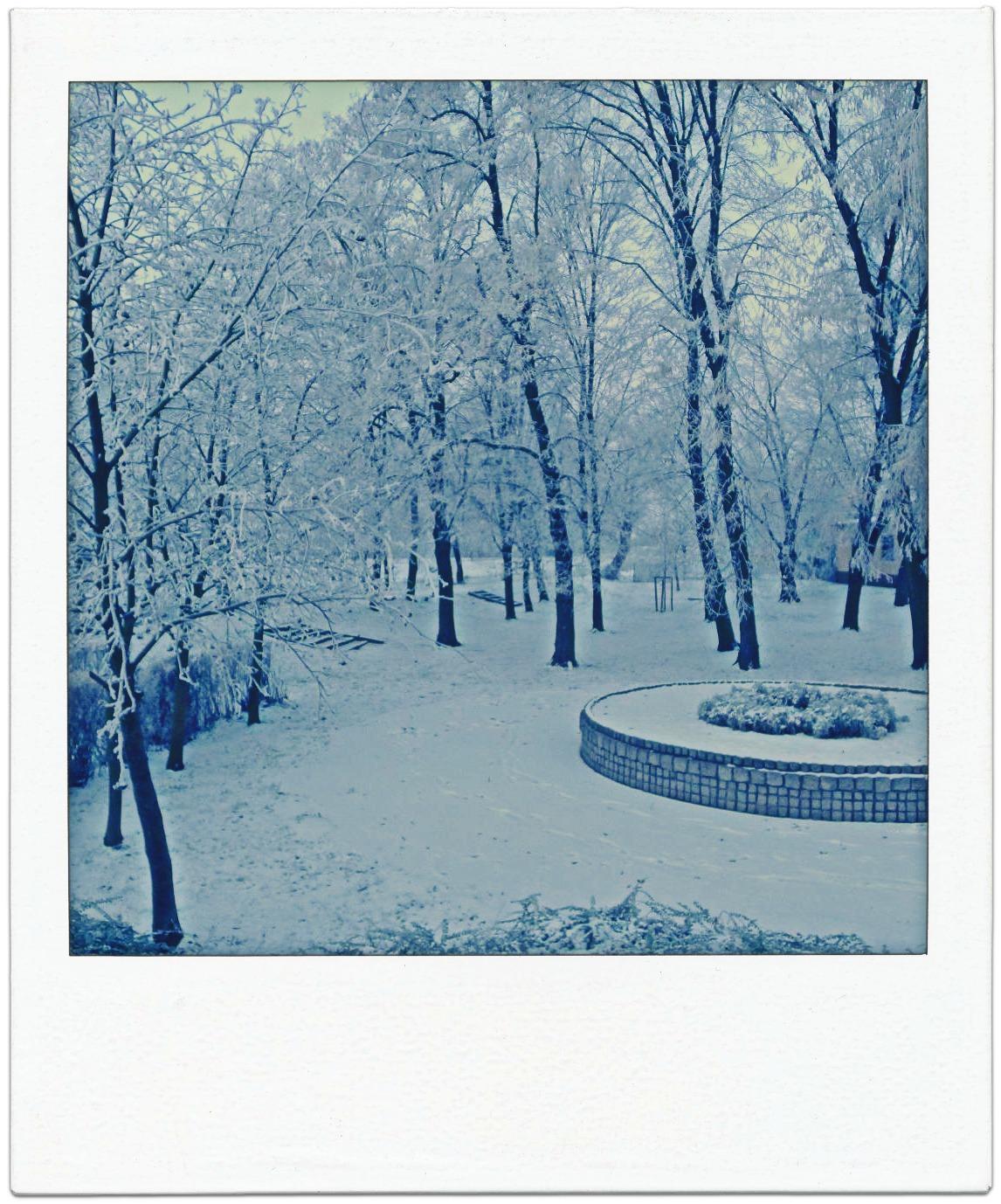 Iluminacja Nocy Milczenia śniegu Szukam W Sobie