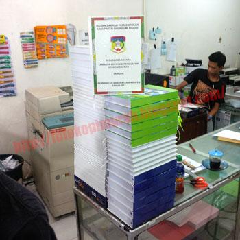 Jilid Hardcover Warna Jakarta