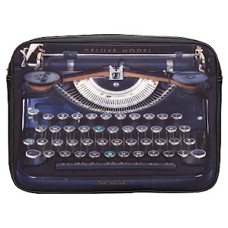 Vintage Typewriter Laptop Sleeve, Ted Baker