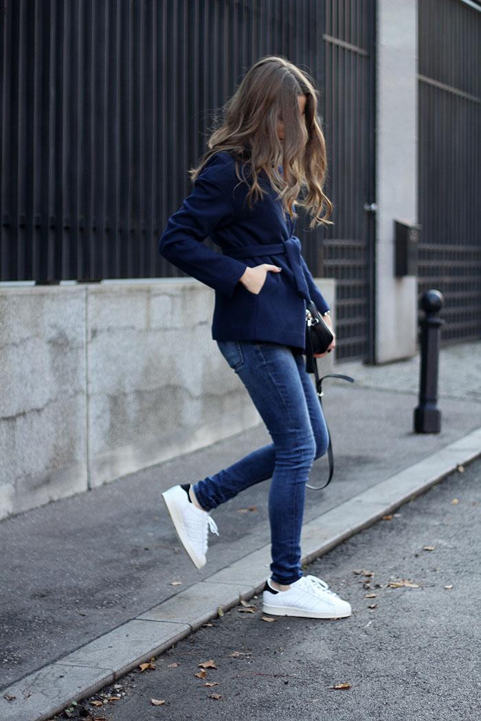 Blue Shoes Men Style
