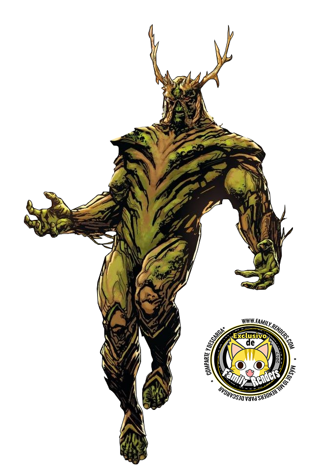 render Swamp Thing V2