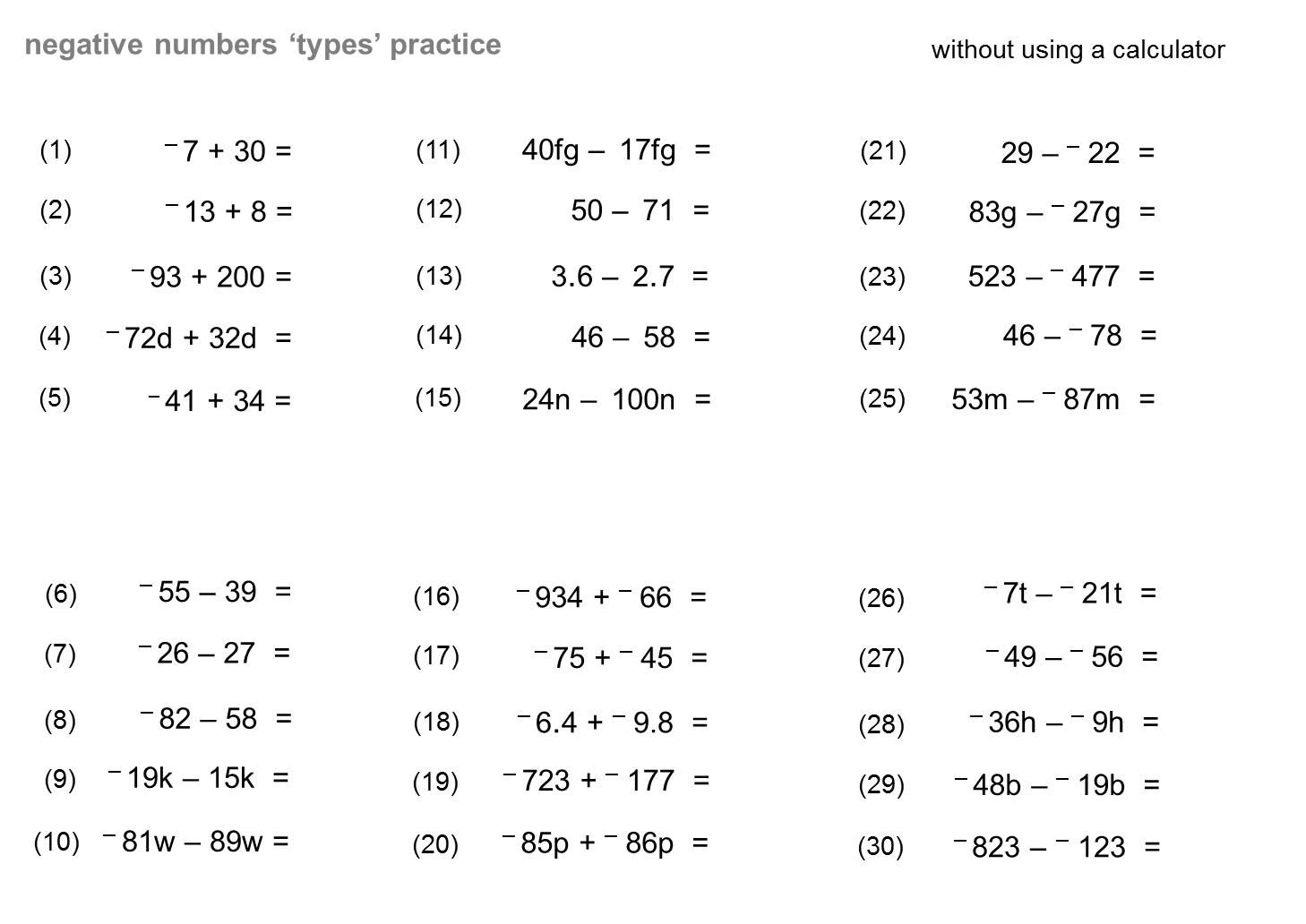 Median Don Steward Mathematics Teaching Directed Number