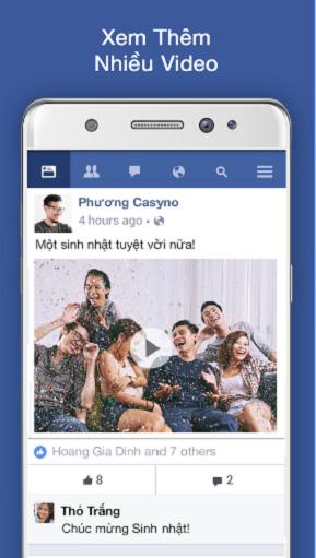 Tải Facebook Lite cho điện thoại và máy tính bảng Android, Java, iOS c