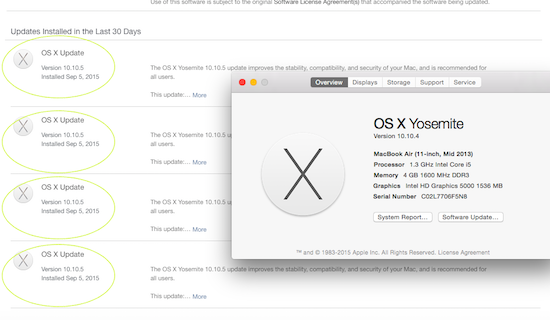 Ken Felix Security Blog: MACOSX 10.10.5 upgrade ( my rant )