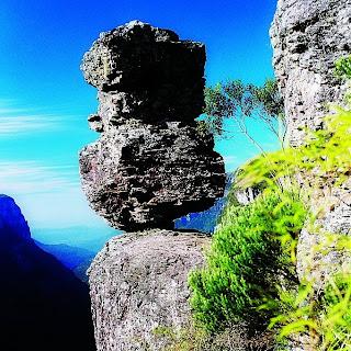 Pedra do Segredo, Cânion Fortaleza, em Cambará do Sul