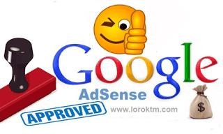 Cara daftar Adsense di blog agar cepat di terima