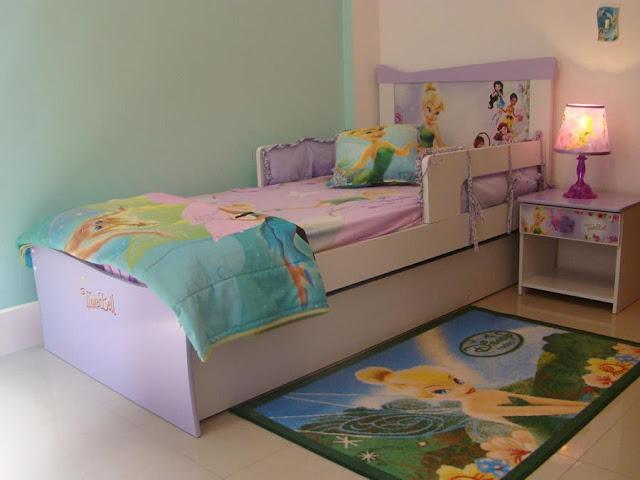 Dormitorio tinkerbell campanita campanilla for Alcobas infantiles