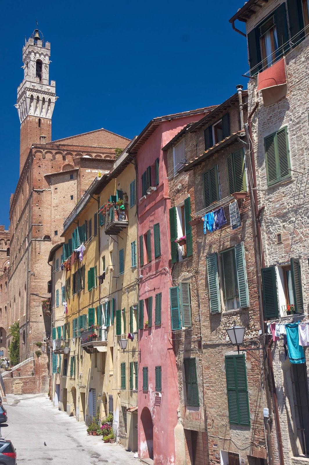 miasto Siena zabudowa