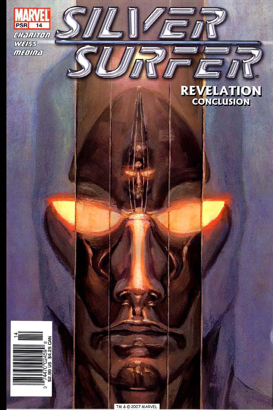 Read online Silver Surfer (2003) comic -  Issue #14 - 1