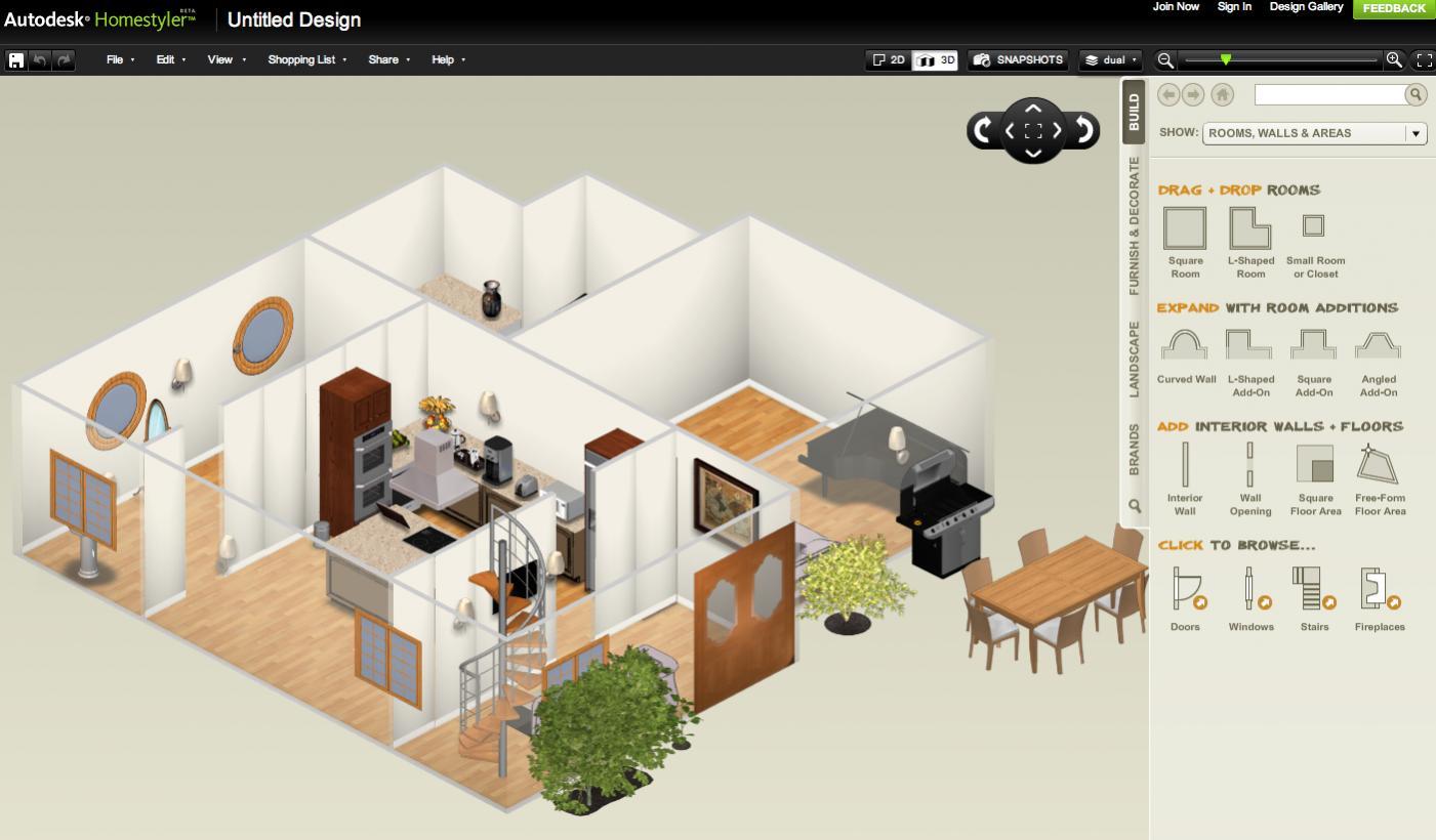Fazer projetos de casas gratis for Casa 3d online
