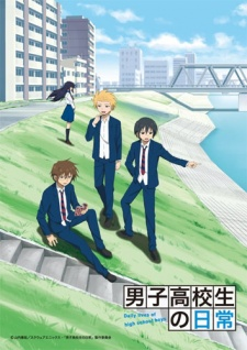 Download Danshi Koukousei no Nichijou Batch Subtitle Indonesia