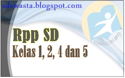 Download Contoh RPP PJOK SD Kurikulum 2013 Revisi 2017 - sd swasta