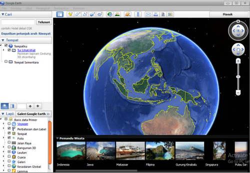 Cara Menggunakan Aplikasi Google Earth Terbaru