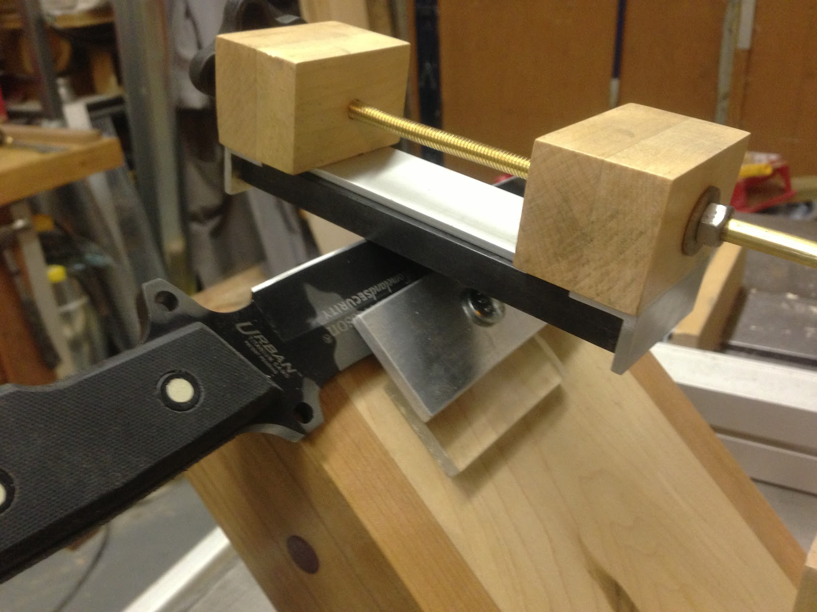 Bruster S Blog My Latest Project Knife Sharpening Jig