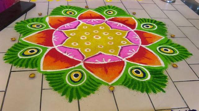 Diwali Rangoli Designs Wallpapers