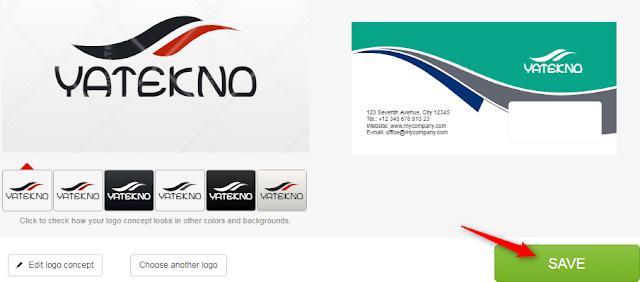 Save logo concept