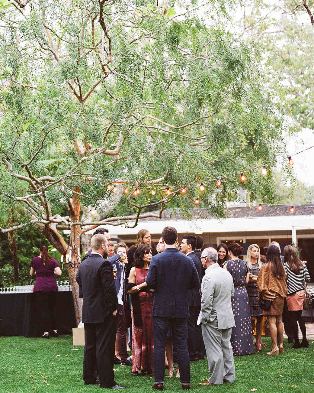 Guests Mingling During Cocktail Hour