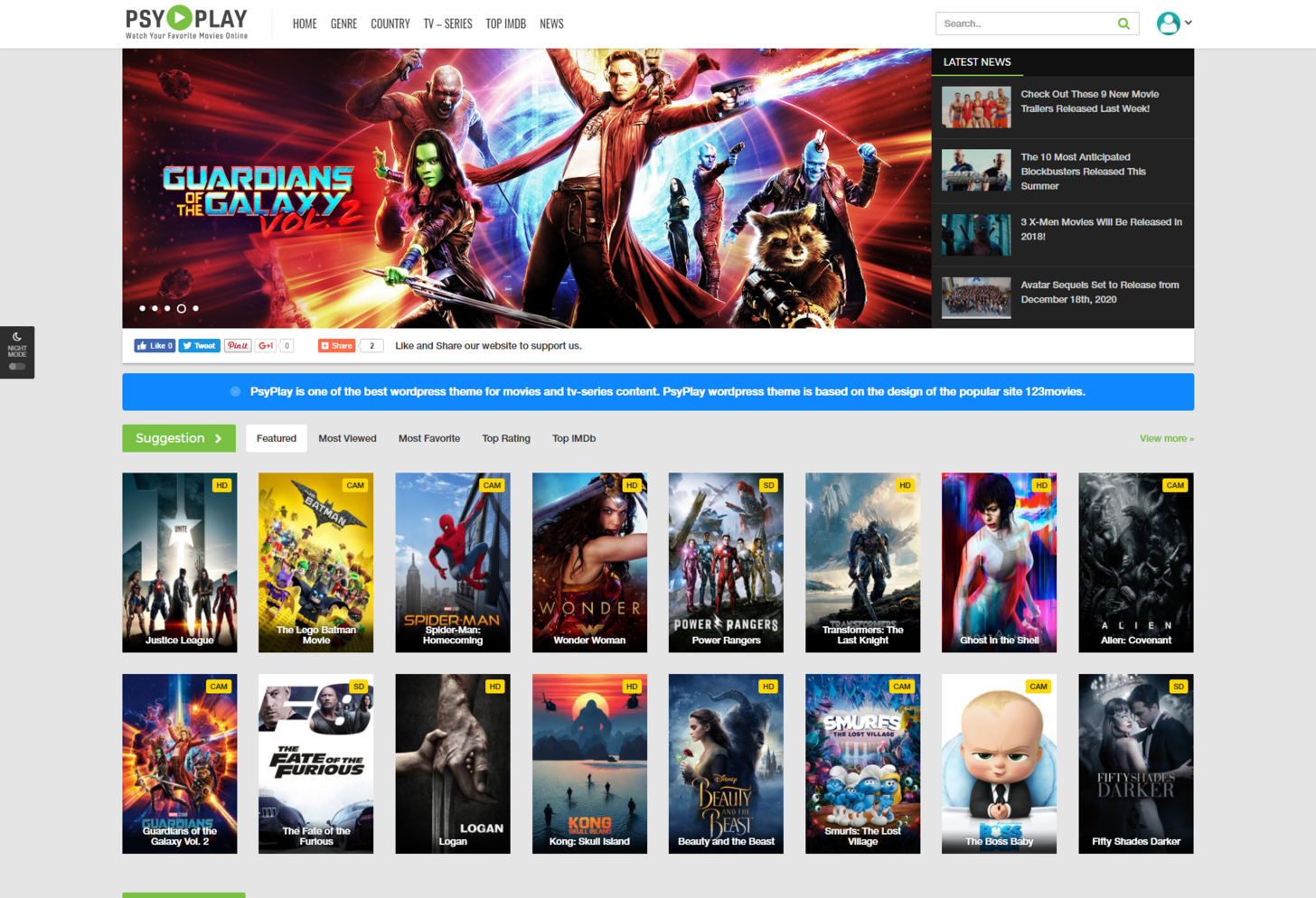 Psyplay Movies and Series Theme Nulled Free Download - ECDLTheme ...