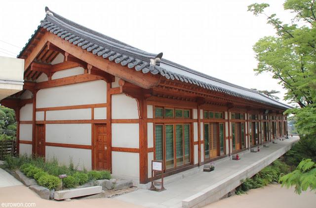 Edificio de madera de Gilsangsa