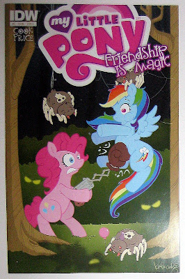 IDW MLP:FiM comic #2 (Pinkie/Rainbow cover)