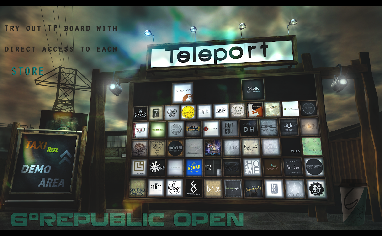 6º Republic OPEN