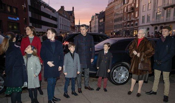 Crown Princess Mary wore Diane von Furstenberg Mikhaila Jacket. Princess Isabella, Princess Josephine, Princess Marie, Princess Athena