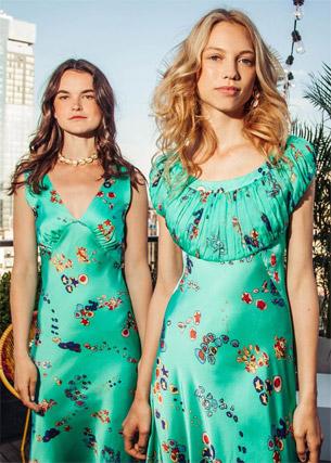 Isolda coleção verão 2017 vestidos de cetim para festas
