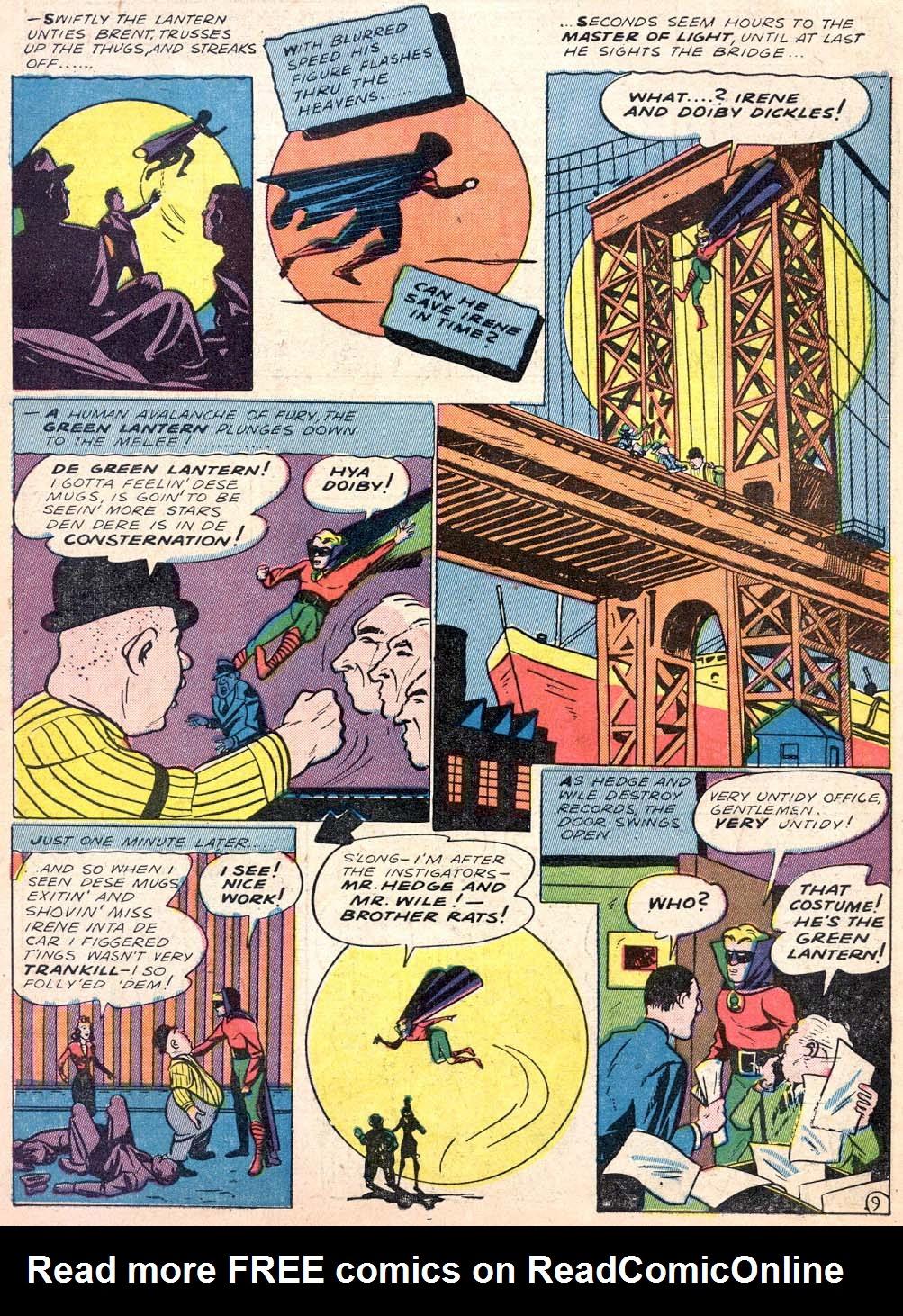 Read online All-American Comics (1939) comic -  Issue #30 - 11