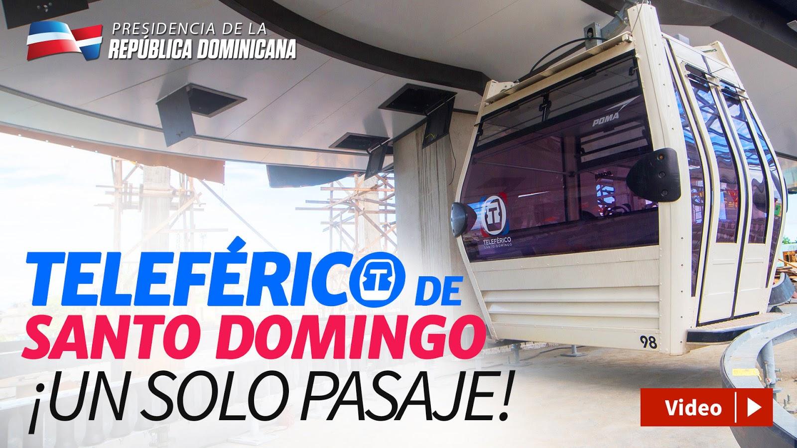 VIDEO: Teleférico de Santo Domingo, un solo pasaje