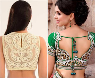 Fancy-saree-blouse-back-neck-designs-pattern-for-women-11