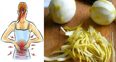 2-Fixing Lemon Peel Home Solution For Take Out Joint Agony