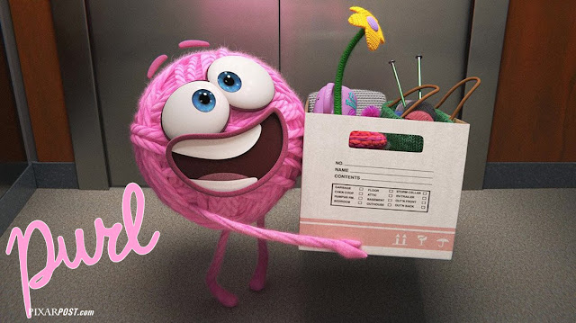 Pixar Purl teaser image with logo