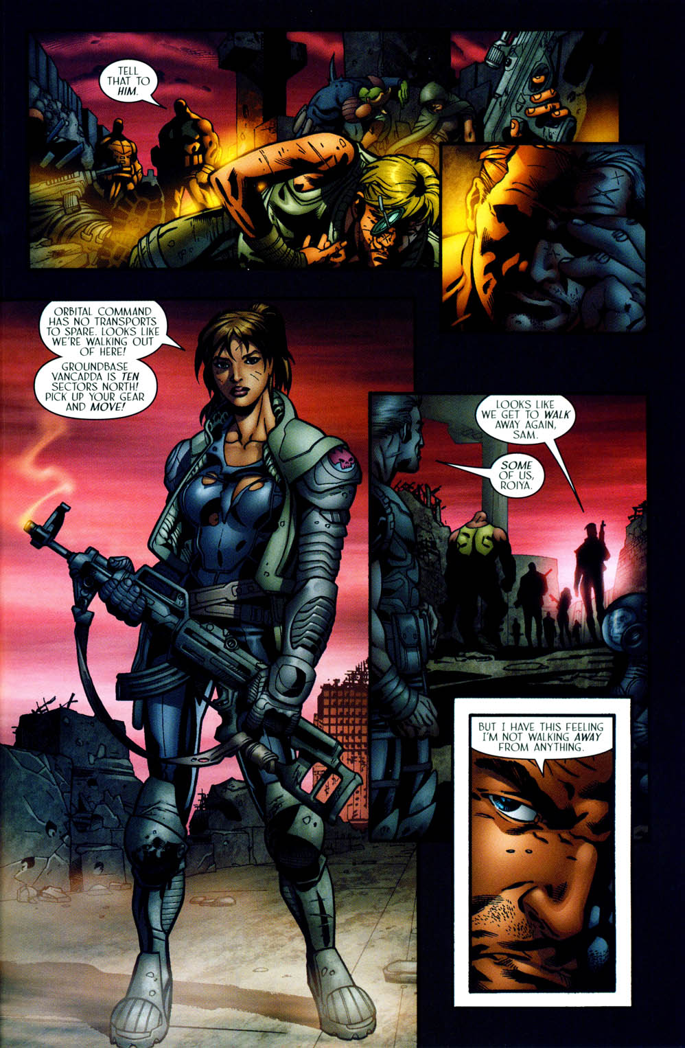 Read online Sigil (2000) comic -  Issue #35 - 20