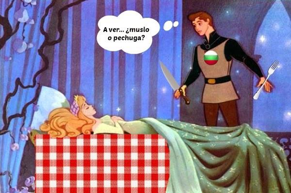 Los búlgaros comen princesas