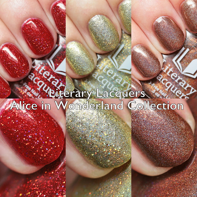 Literary Lacquers Alice in Wonderland Collection