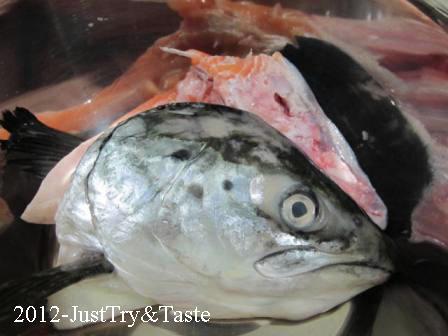 Resep Sup Kepala Salmon