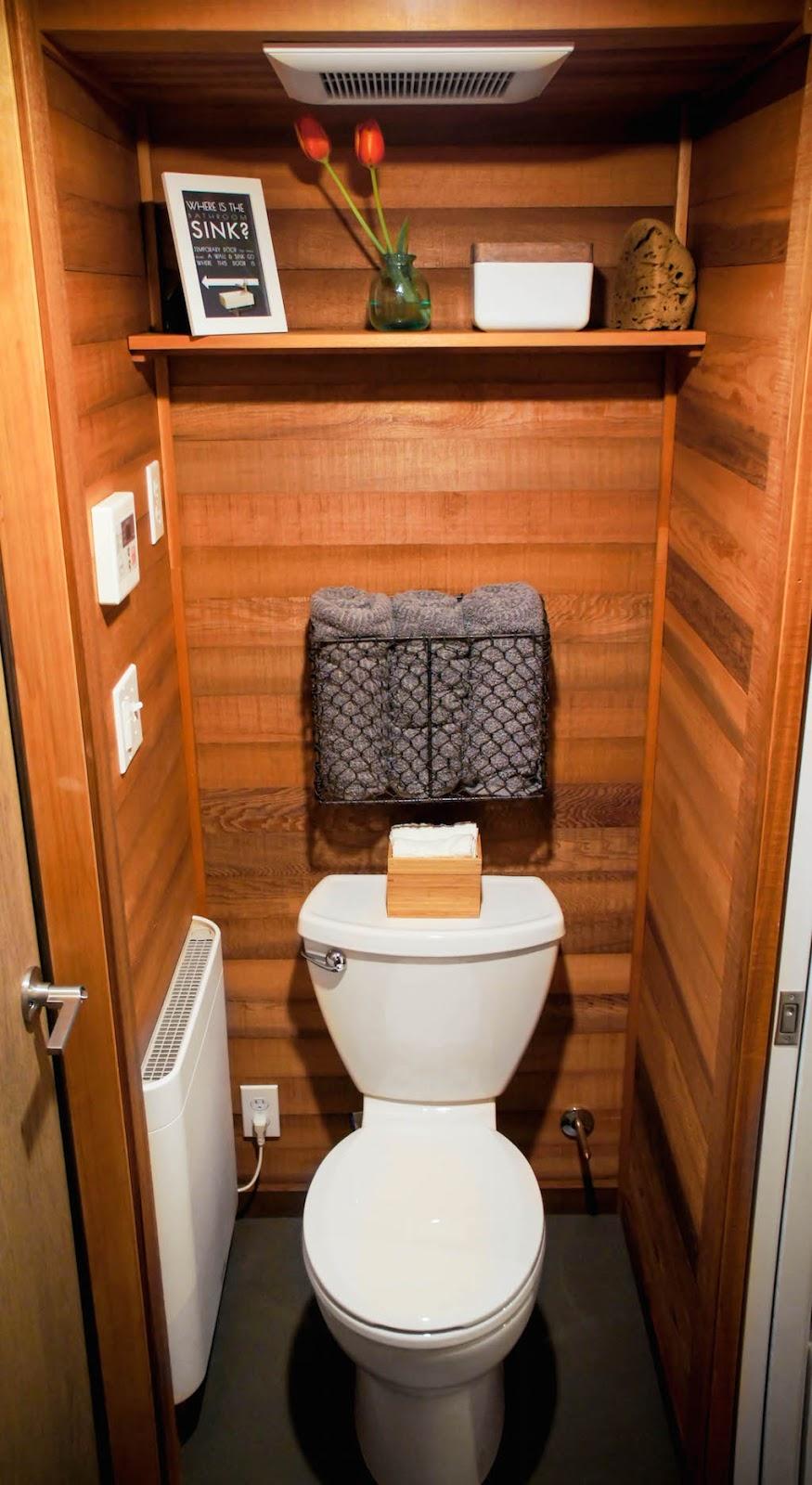 Tiny Home Bathroom Design: TINY HOUSE TOWN: The Kootenay From Greenleaf Tiny Homes