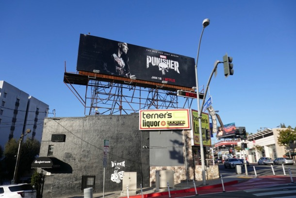 The Punisher season 2 billboard