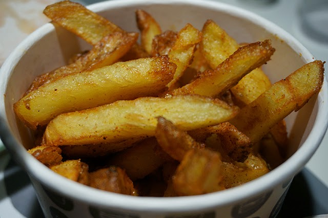 Thrice cooked house chips with chipotle chilli