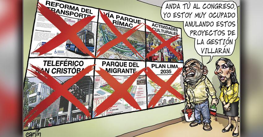 Carlincaturas Jueves 13 Julio 2017 - La República