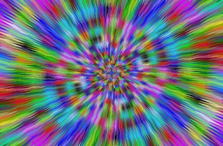 gambar latar hipnotis