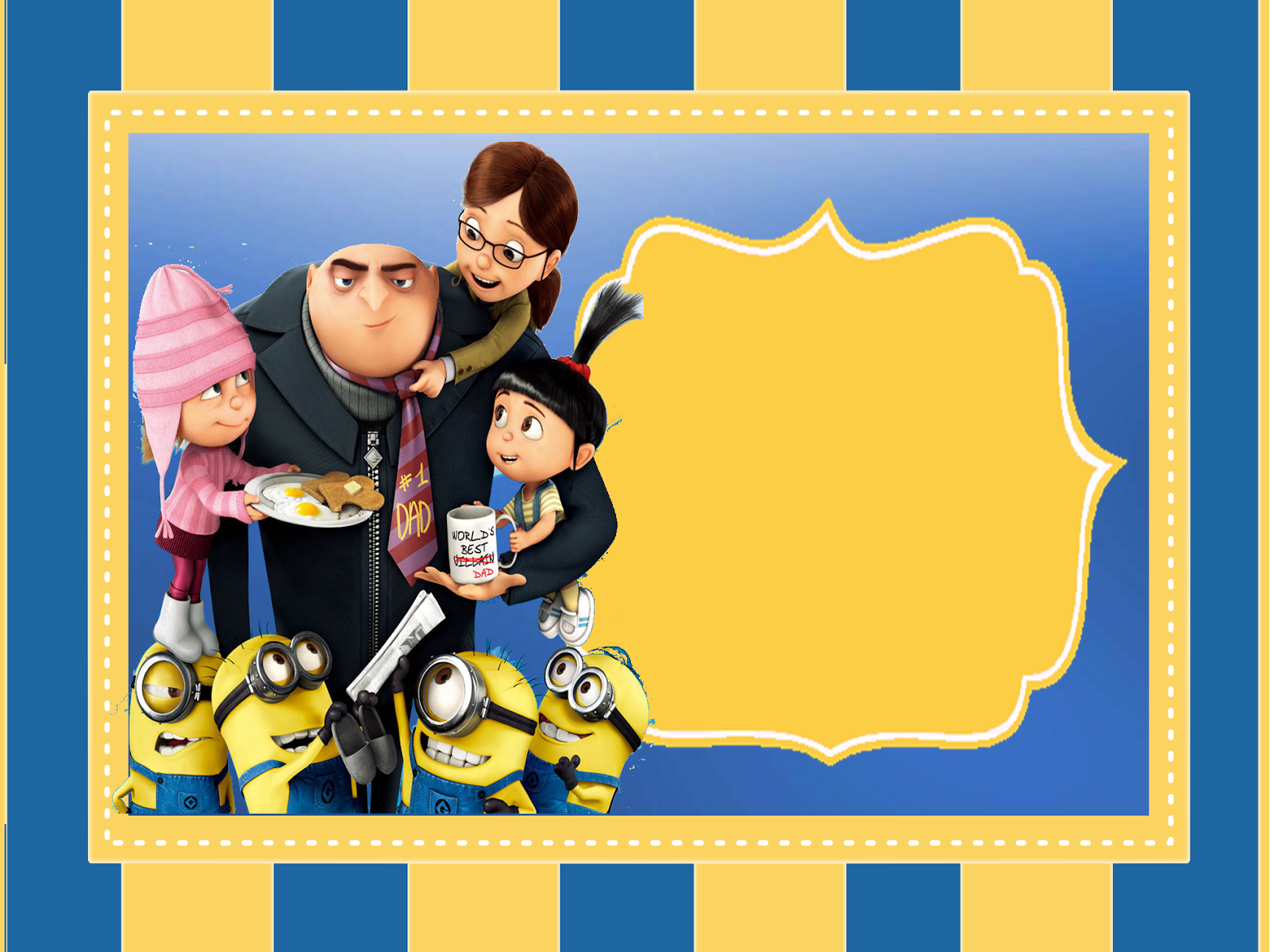Despicable Me 2 Free Printable Kit Oh My Fiesta in english