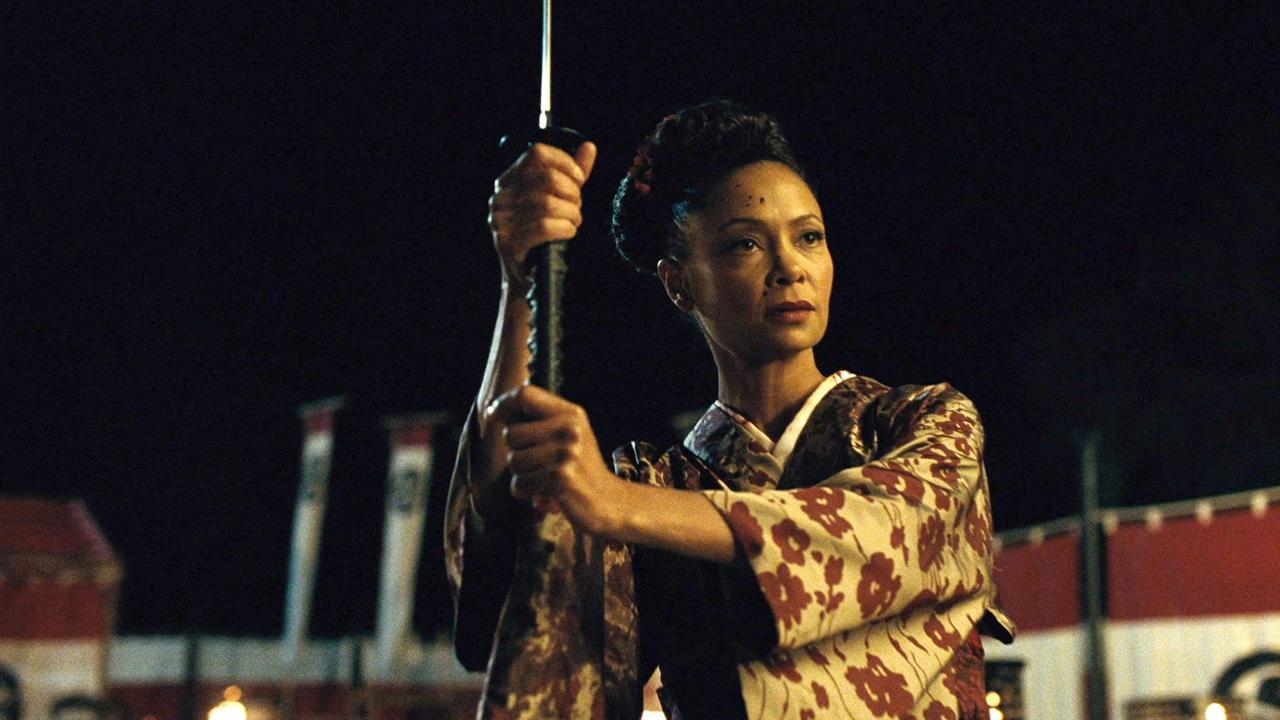 Fotografía de Maeve en el 2x05 de Westworld, Akane No Mai