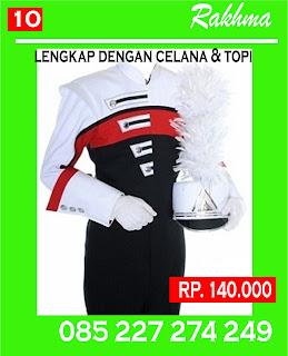 baju drumband pakaian drumband seragam drumband kostum mayoret