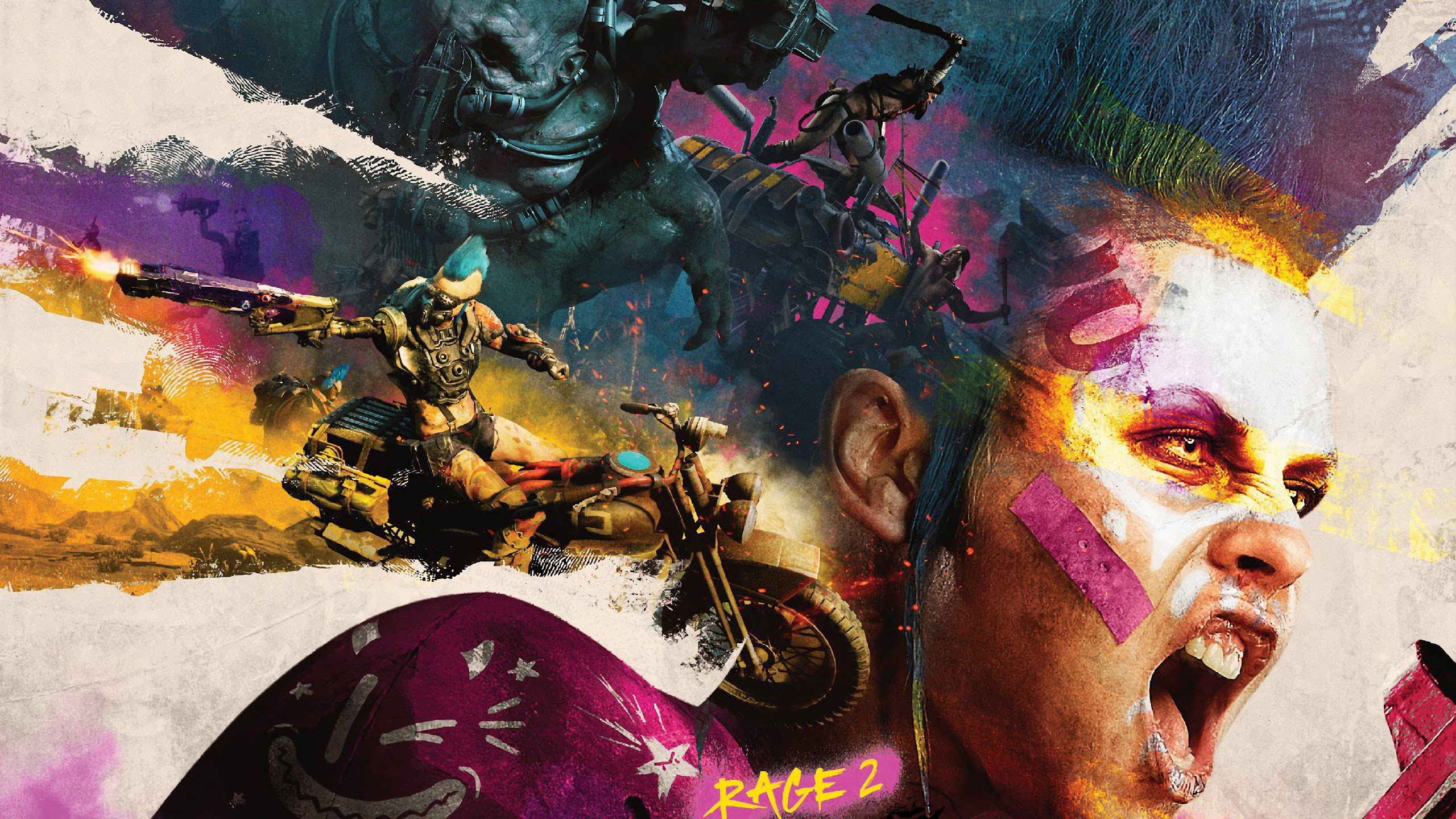 Rage 2 4k Wallpaper 8