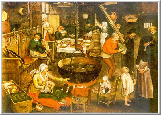 storia dell' alimentazione in europa e in italia | s t r a v a g a n z a